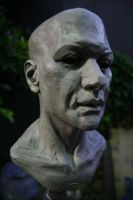 Sculpture: Male Bust 02 by JessicaDru