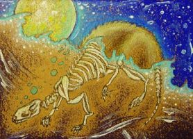 Secret of the Full Moon ACEO by Redwall151