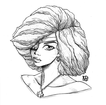 Nadel Natural Hair by SHADOBOXXER