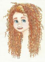 Merida portrait by Xijalle