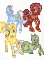 My Little TalkShow Host Ponies by LovelyLocks