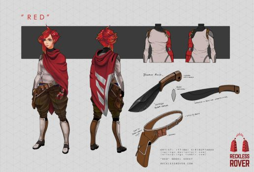 Red Sheet part 1 by Springs