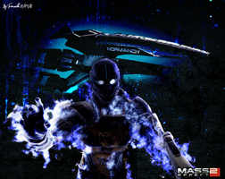 Mass Effect Galaxy 1. by Ternouille