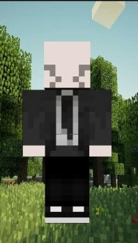 minecraft  skins :  a i from by techno103