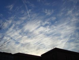 Cirrus Clouds II by Jrathage-Stock