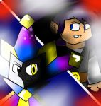 Commission - ~Shadow and Dimentio~ by CJSilverBeatle