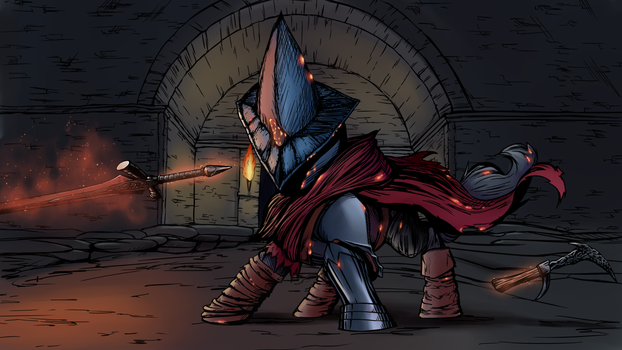 Abyss watcher by Vistamage