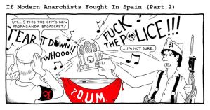 If Modern Anarchists Fought in Spain (Part 2) by RednBlackSalamander