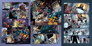 DeathStroke 13 fill in pages by spidermanfan2099