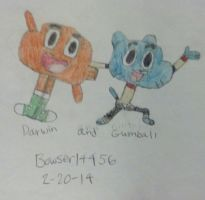 TAWOG: Gumball and Darwin by Bowser14456