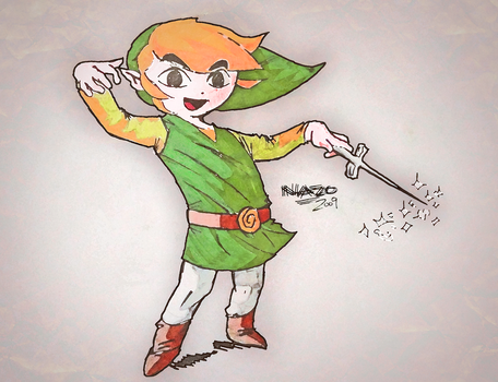 A Toon Link to the Past by NazoZR