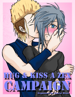 Hug-N-Kiss A Zex Campaign by DarkRyan75