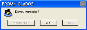 Do you want cake? by drsteve5794