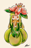 Watercolor Lilligant  by SparklingAmphy