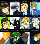 2014 Art Summary by NSYee36