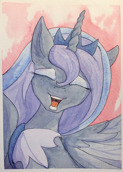 Our Luna by Asssha