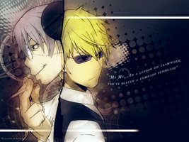 Dr. Stein X Shizuo by lotras