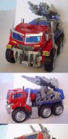 Monster Convoy Truck Mode by hinomars19
