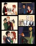 Young Justice - YULE BALL by avataraandy