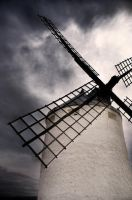 windy mill by ginaS