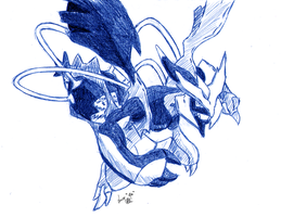 Black Kyurem by Seiryu6
