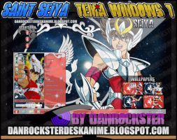 Seiya Pegasus Theme Windows 7 by Danrockster