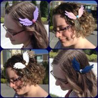 My Little Pony Princess Clips by ThePinkPoudo