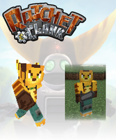 Ratchet in Minecraft by Janku-Roketto