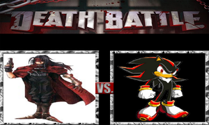 DEATH BATTLE 3: Vincent Valentine vs Shadow by CannedMadMan66
