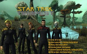 The crew of the U.S.S. Tempest by Kant-Lavar