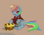 Rainbowdash the Thief by CrombieTTW