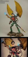Custom Steampunk Robin DC Universe action figure by Jin-Saotome