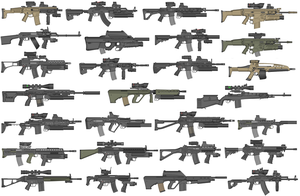 AR Collection 2012 by GrimReaper64