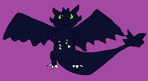 AT: Toothless the Dragon by MagiMew