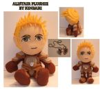 Dragon Age Alistair Plushie by kinbari