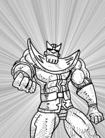 Thanos daily sketchbook challenge by exspasticcomics