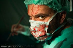 Psycho Doctor II by AliPhotography