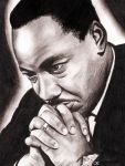 Dr. Martin Luther King Jr. by halfeatencookie