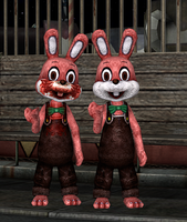 Robbie the Rabbit retexture (download) by Mageflower