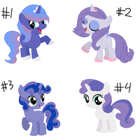 LunaBelle Adopts CLOSED by FinalSmashPony