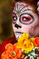 Day of the Dead by Glittergrrrl1204