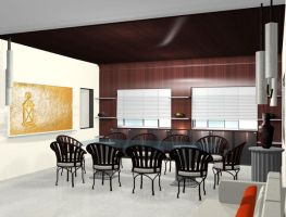 View Of a Dining Area by psd0503