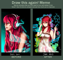 Draw this again! Meme - Neo-Magenta by FleetingThunderBlade