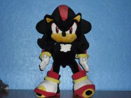 My Sonic X Shadow Plush by DarkGamer2011