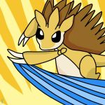 Slashy the Sandslash by tacoroach