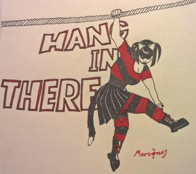Hang In There by marcony