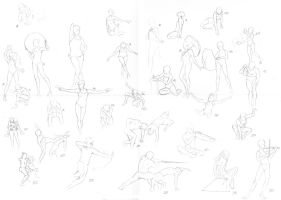 30 Poses by die-BeckX