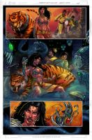 DURGA WITCHBLADE 02 by MARCIOABREU7