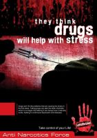 Anti Narcotics Poster by Faiqaz