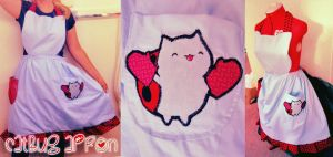 Catbug Apron by Spwinkles